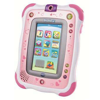 Tablette tactile enfant vtech storio 2 rose tablettes - Tablette pas cher enfant ...