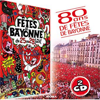 f tes de bayonne 2012 cd album en musique du pays basque tous les disques la fnac. Black Bedroom Furniture Sets. Home Design Ideas