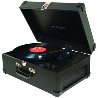 crosley platine vinyl keepsake noir platine d 39 coute achat prix fnac. Black Bedroom Furniture Sets. Home Design Ideas