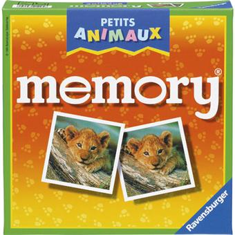 ravensburger grand memory petits animaux autre jeu de soci t acheter sur. Black Bedroom Furniture Sets. Home Design Ideas