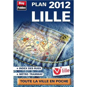 dans Lille.Plan de Lille avec index des rues et des Voir la suite
