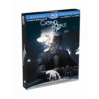 james bond casino royale edition deluxe collector blu ray coffret dvd blu ray martin. Black Bedroom Furniture Sets. Home Design Ideas