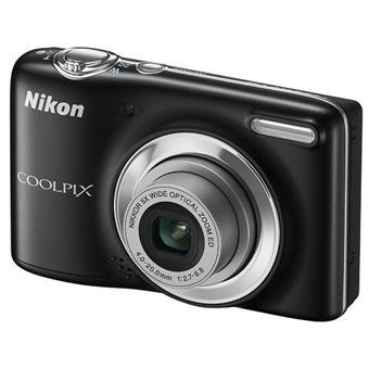 Nikon CoolPix L25 Noir Envoûtant Appareil photo numérique compact