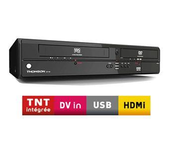 thomson cb1000 combin lecteur enregistreur dvd vhs achat prix fnac. Black Bedroom Furniture Sets. Home Design Ideas