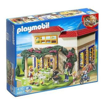 Playmobil 4857 maison de campagne playmobil acheter for Photos maison playmobil