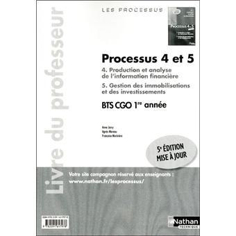 Processus 4/5 bts 1 cgo prof
