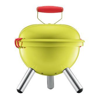 mini barbecue charbon bodum fyrkat 11421 565 vert citron. Black Bedroom Furniture Sets. Home Design Ideas