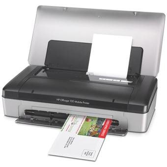 hp officejet 100 mobile printer imprimante couleur. Black Bedroom Furniture Sets. Home Design Ideas
