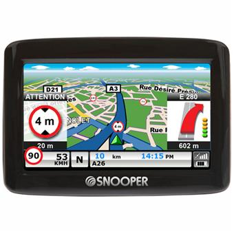 Navigation GPS SNOOPER VENTURA CC1000 NOIR EUROPE 32 PAYS