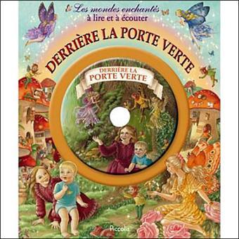 derri 232 re la porte verte livre avec un cd audio livre cd collectif achat livre prix fnac