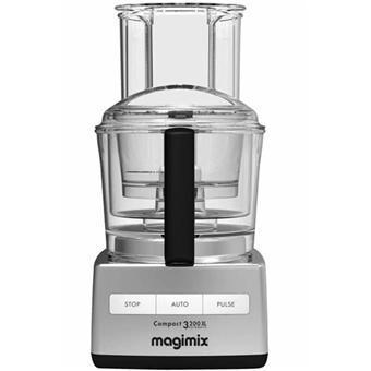 magimix 18339f robot multifonction cuisine syst me 3200 xl chrome mat acheter sur. Black Bedroom Furniture Sets. Home Design Ideas