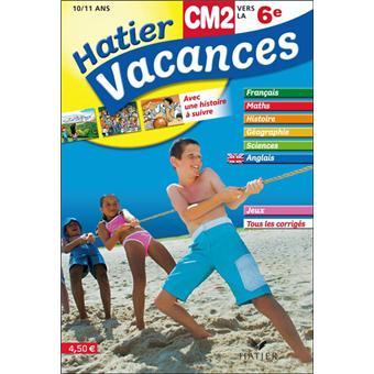 cahier de vacances cm2 vers la 6eme