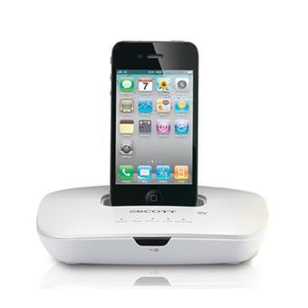 scott luminor i dxs 10 station d 39 accueil pour ipod iphone mini enceintes achat prix fnac. Black Bedroom Furniture Sets. Home Design Ideas