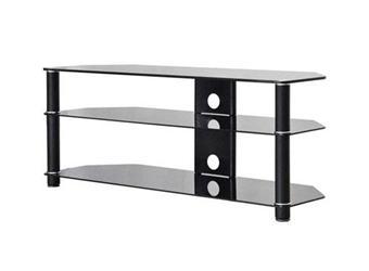 ateca meuble tv simply 1200 noir meuble ecrans plats achat prix fnac. Black Bedroom Furniture Sets. Home Design Ideas