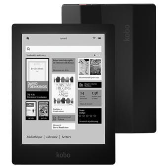 Liseuse numérique Kobo by Fnac Aura HD, Noir, Edition Limitée