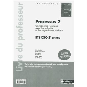 Processus 2 bts 2 cgo prof