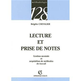 lecture et prise de notes pdf