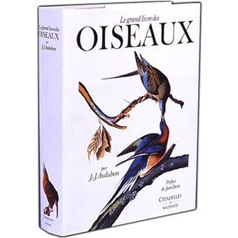 le grand livre des oiseaux broch john james audubon. Black Bedroom Furniture Sets. Home Design Ideas