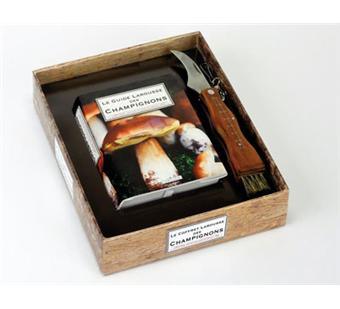 le guide larousse des champignons coffret avec un guide et un couteau boites et accessoires. Black Bedroom Furniture Sets. Home Design Ideas