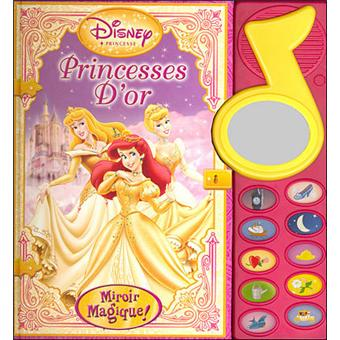 Miroir magique princesse d 39 or broch walt disney for Miroir magique cinema