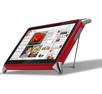 """Tablette QooQ V2 10,1"""" LED Rouge Soldes 2016 Fnac.com"""
