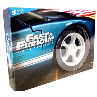 coffret fast and furious l 39 int grale blu ray edition collector blu ray rob cohen. Black Bedroom Furniture Sets. Home Design Ideas