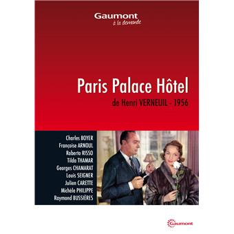 Paris Palace Hôtel DVD