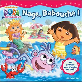 Dora l 39 exploratrice nage babouche collectif - Dora a la plage ...