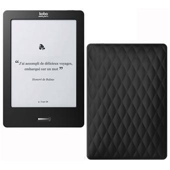 Liseuse num rique kobo by fnac kobo touch noir noir for Housse liseuse kobo