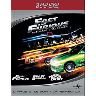 fast and furious coffret de la trilogie hd dvd hd dvd robert cohen john singleton. Black Bedroom Furniture Sets. Home Design Ideas