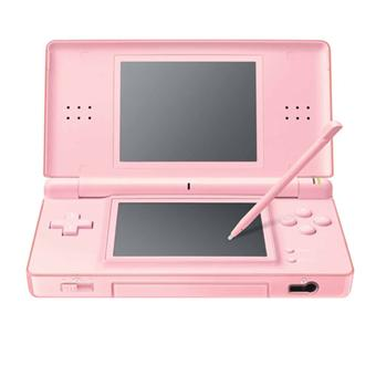 console ds lite rose nintendo console de jeux portable achat prix fnac. Black Bedroom Furniture Sets. Home Design Ideas