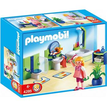 playmobil 4285 salle de bains playmobil achat prix fnac. Black Bedroom Furniture Sets. Home Design Ideas