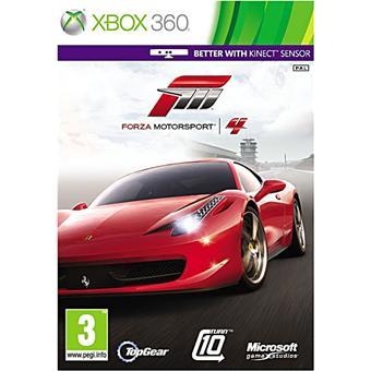 forza motorsport 4 sur xbox 360 jeux vid o achat prix fnac. Black Bedroom Furniture Sets. Home Design Ideas