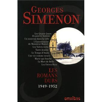 Les Romans durs 1949-1952 - volume 8