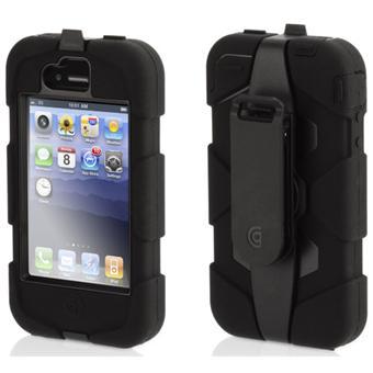 pour iphone 4 4s griffin coque survivor pour iphone 4 noire etui pour