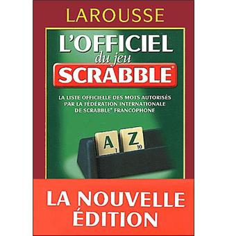 l 39 officiel du scrabble cartonn collectif achat livre achat prix fnac. Black Bedroom Furniture Sets. Home Design Ideas