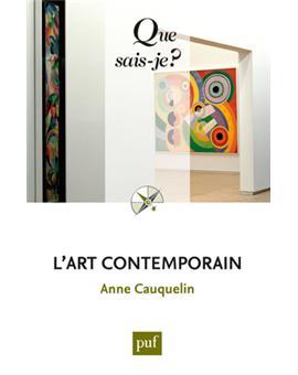 L 39 art contemporain poche anne cauquelin achat livre for Art contemporain livre
