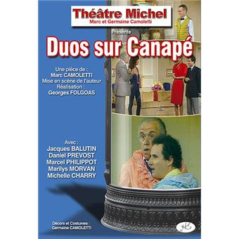 Duo sur canap dvd zone 2 marc camoletti jean for Duos sur canape