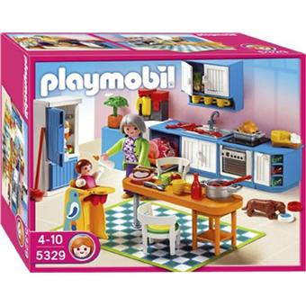 playmobil 5329 cuisine playmobil achat prix fnac. Black Bedroom Furniture Sets. Home Design Ideas