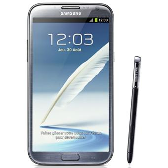 samsung galaxy note 2 n7100 gris smartphone sous. Black Bedroom Furniture Sets. Home Design Ideas