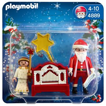 playmobil 4889 pere noel et petit ange playmobil. Black Bedroom Furniture Sets. Home Design Ideas
