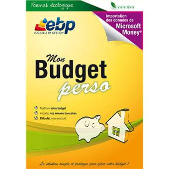 ebp mon budget perso 2012 dvd rom achat prix fnac. Black Bedroom Furniture Sets. Home Design Ideas