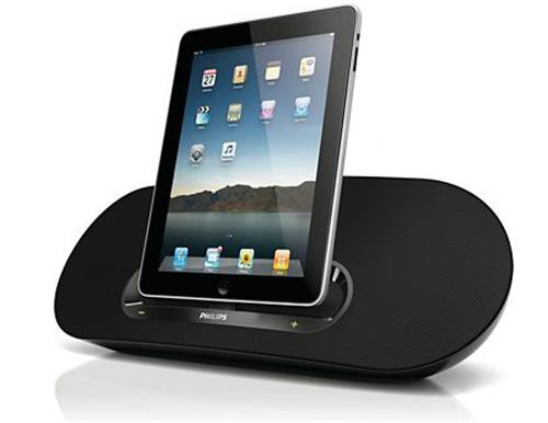 Philips ds8530 station d 39 accueil pour ipod iphone ipad mini enceintes - Enceinte iphone ipad ...