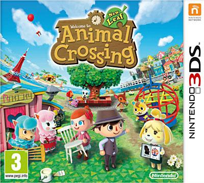 Animal Crossing New Leaf 3DS - Nintendo 3DS