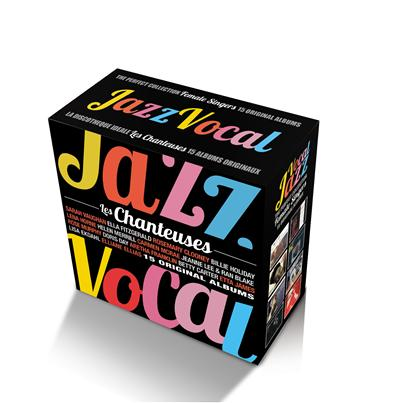 Perfect vocal jazz collection - Female singers - Coffret 16 CD