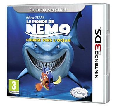 Le Monde de Nemo - Course vers l'océan - Nintendo 3DS