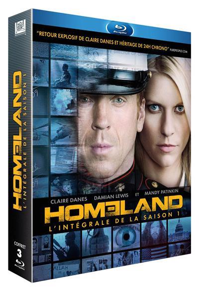 Homeland Saison 1 Edition spéciale Fnac Coffret Blu-ray