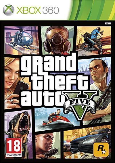 GTA 5 Xbox 360 - Xbox 360