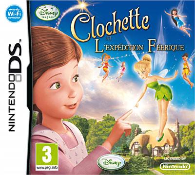 Clochette et l'expédition Féerique - Nintendo DS