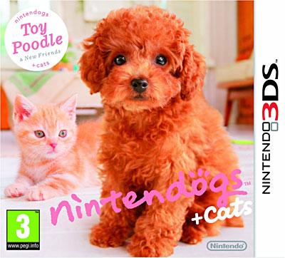 Nintendogs + Cats Caniche Toy et ses nouveaux amis - Nintendo 3DS